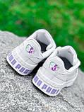 Кроссовки женские в стиле Puma белые + голографик 4286, фото 7