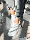 Кроссовки женские Alesan белые 4296, фото 5