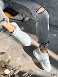 Кроссовки женские Alesan белые 4296, фото 7