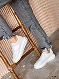 Кроссовки женские Alesan белые 4296, фото 10