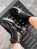 Черевики жіночі Louis чорні 4305 лак ДЕМІ, фото 4