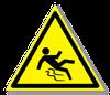 Предупреждающий знак «Осторожно. Скользко».