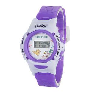 Детские электронные наручные часы Disegni violet, фото 2