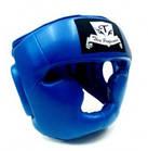 Шлем боксерский для тренировок Thai Professional HG3L BLUE, фото 5