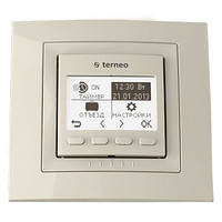 Программируемый терморегулятор Terneo pro (бежевый), фото 1
