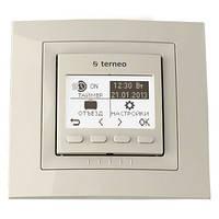 Программируемый терморегулятор Terneo pro (бежевый)