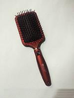 Массажная щётка для волос Salon квадрат