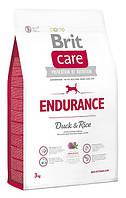 Корм для собак Brit Care Endurance 3 кг, брит для активных собак всех пород
