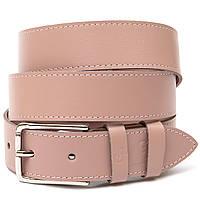Кожаный ремень для женщин GRANDE PELLE 11451 Розовый
