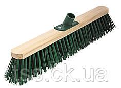 Щетка промышленная ГОСПОДАР 500х75х150 мм ПЭ+ПВХ деревянная с пластиковым креплением без ручки 14-6413