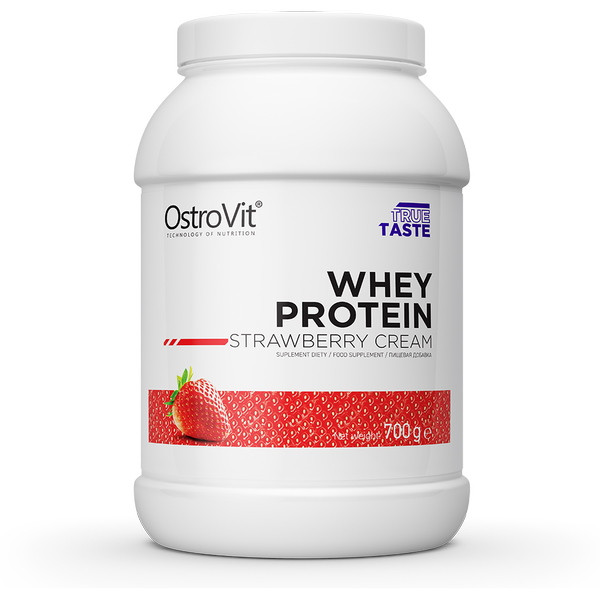 Протеин OstroVit Whey Protein, 700 грамм Клубника