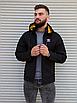 Чорна чоловіча вітровка Adidas | 100% поліестер | без утеплювача, фото 2
