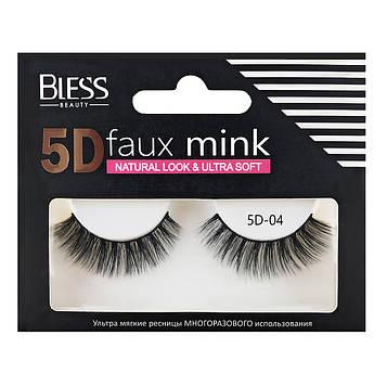 Накладные ресницы Bless Beauty 5D Faux Mink 5D-04