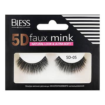 Накладные ресницы Bless Beauty 5D Faux Mink 5D-05