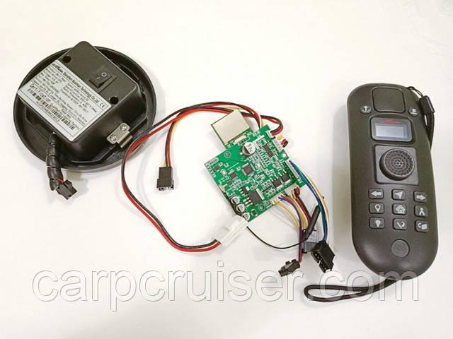 Система GPS Навігації-V2 Автопілот, Круїз контроль, Компас, Автосброс пам'ять 16 точок для коропових корабликів