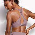 💋 Спортивний Бюстгальтер Victoria's Secret Sport Bra 34А (75А), Сірий, фото 2