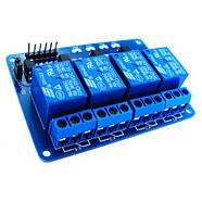 4-канальный модуль реле 5В для Arduino PIC ARM AVR, фото 4