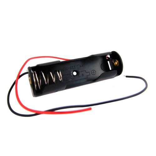 Бокс на 1 АА батарею, 1.5 V кейс, харчування Arduino