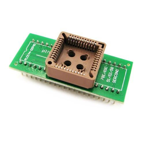 PLCC44 - DIP40 переходник, панелька для микросхем