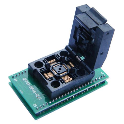 TQFP48 QFP48 PQFP48 - DIP48 переходник панелька
