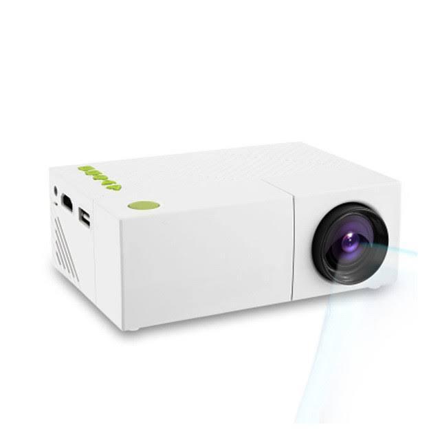 Мультимедийный Мини ПРОЕКТОР Projector LED YG310 Mini с Динамиком Портативный Светодиодный с Пультом ДУ