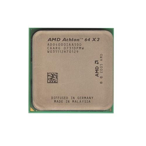 Процесор AMD Athlon 64 X2 4000+, 2 ядра, 2.1 ГГц, AM2
