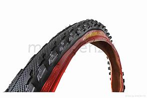 Велосипедна шина 26 * 2,0 червоний борт