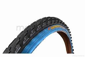 Велосипедна шина 26 * 2,0 синій борт