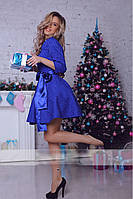 Платье женское с подъюбником 7- 030