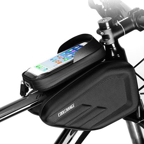 """Нарамная сумка для велосипеда велосумка CoolChange водонепроникна 6.2"""""""