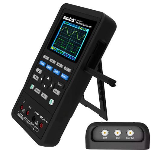 Осцилограф 2кан 40МГц + мультиметр 2в1 портативний Hantek 2C42