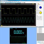Осцилограф 2кан 40МГц + мультиметр 2в1 портативний Hantek 2C42, фото 3
