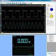 Осцилограф 2кан 40МГц + мультиметр 2в1 портативний Hantek 2C42, фото 5