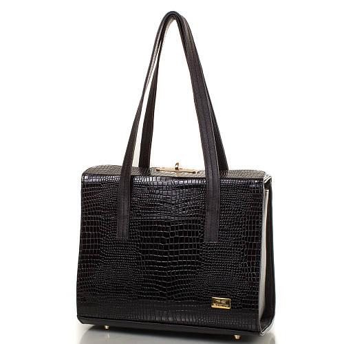Современная женская сумка из качественной искусственной кожи ETERNO Артикул: ETMS35251-2-1 черный