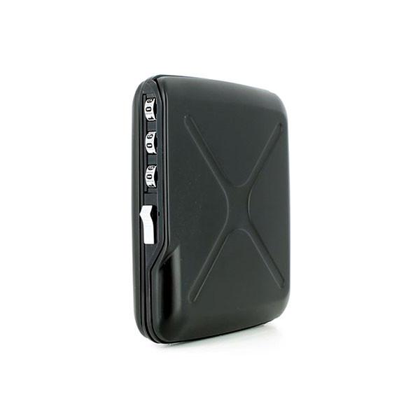 """Мужской бумажник с блокировкой многофункциональный """"Mini Safe Alu"""" от французского бренда Ogon Designs"""
