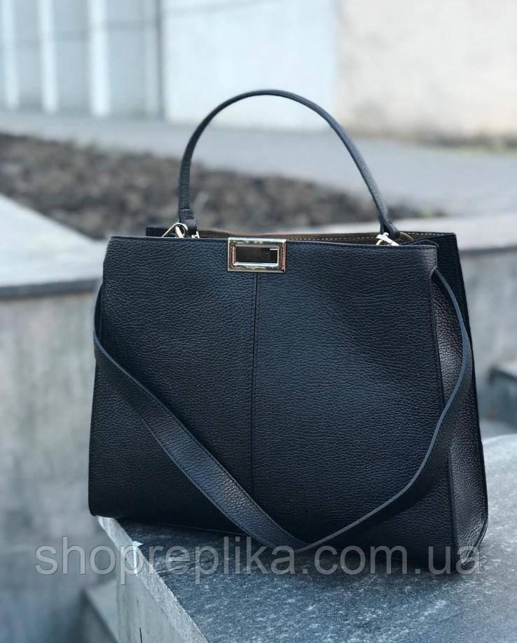 Сумка кожаная женская Италия Женские сумки больших размеров модные объемные сумки Genuine Leather
