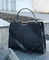 Сумка кожаная женская Италия Женские сумки больших размеров модные объемные сумки Genuine Leather, фото 1