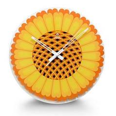 Часы настенные кварцевые FUDA F7006R (300х300х35 мм)