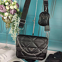 Модная женская сумка в стиле Prada Прада Турция