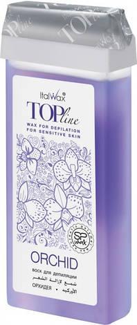 Воск кассетный Орхидея ItalWax Top Line Orchid 100 мл, фото 2