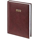 Ежедневник датированный BRUNNEN 2022 карманный Miradur бордовый, фото 2