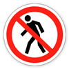 Заборонний знак «Прохід заборонений»