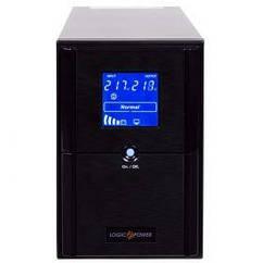 ИБП LogicPower LPM-UL1550VA, Lin.int., AVR, 3 x євро, USB, LCD, метал