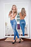 Легинсы женские теплые Slim Jeggings, Слим Джеггинс (Женские лосины), фото 4