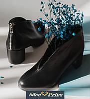 Женские туфли натуральная черная кожа или замша 36-41, фото 1