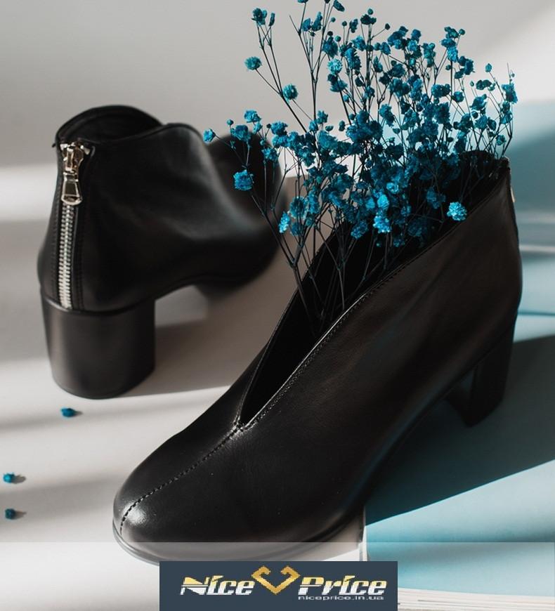 Женские туфли натуральная черная кожа или замша 36-41