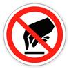 Заборонний знак «Забороняється торкатися. Небезпечно»