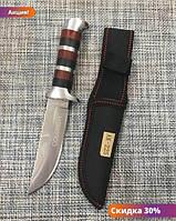"""Охотничий нож с чехлом Colunbir В027 / АК-225 (22см) """"Tc"""""""