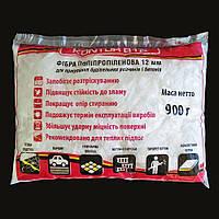Волокно армирующее фибра для стяжек пола и бетонных изделий KONTUR-Б12 (900гр)