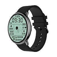 Умные смарт часы Lemfo M30 со встроенным пульсоксиметром (Черный), фото 1